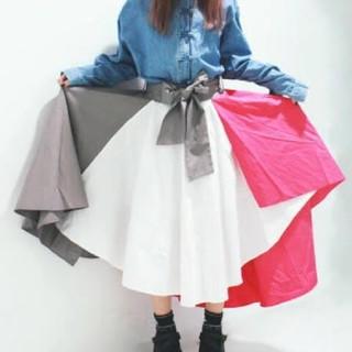 FUNKY FRUIT - FUNKY FRUIT 配色スカート
