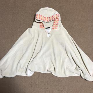 ロンハーマン(Ron Herman)の新品未使用マイダルタニアンパイル地ポンチョ刺繍フード付(ポンチョ)