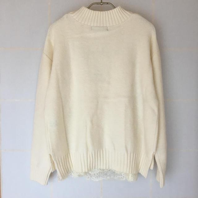 JUSGLITTY(ジャスグリッティー)のセーター  キャミソール付き レディースのトップス(ニット/セーター)の商品写真