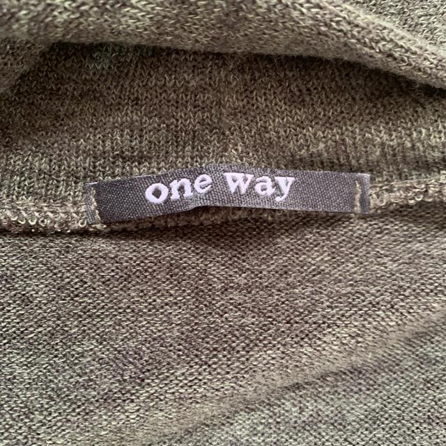 one*way(ワンウェイ)のOne Wayロングカーデ レディースのトップス(カーディガン)の商品写真