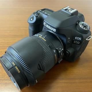 Canon - 美品 Canon EOS 80D シグマ遠近両用レンズ付