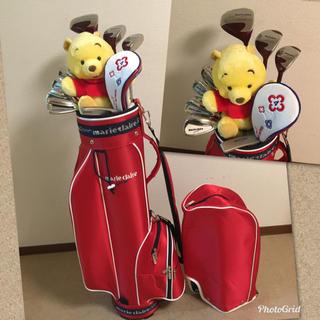 Marie Claire - 人気‼️【超美品】レディース ゴルフ クラブセット/女性/キャディバッグ付き