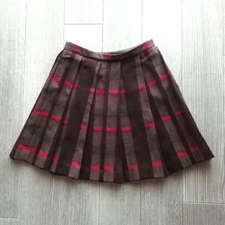 TOCCA - トッカ TOCCA ひざ丈スカート ウール チェック