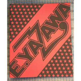 ヤザワコーポレーション(Yazawa)の矢沢永吉 E.YAZAWA A4 リングファイル ロゴ ブラック/レッド(ミュージシャン)