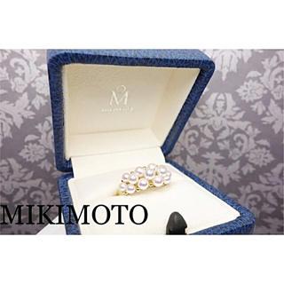 ミキモト(MIKIMOTO)のMIKIMOTO★ベビーパール★K18リング①(リング(指輪))