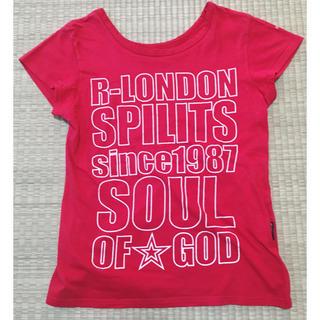 R-London Tシャツ 赤