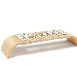 ザラホーム(ZARA HOME)のNEW 鉄琴 ホワイト キッズコンセプト  北欧おもちゃ 楽器 おも(楽器のおもちゃ)