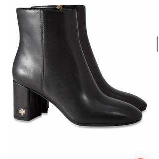 Tory Burch - 新品 トリーバーチ ブーティー ショートブーツ 黒 布袋付