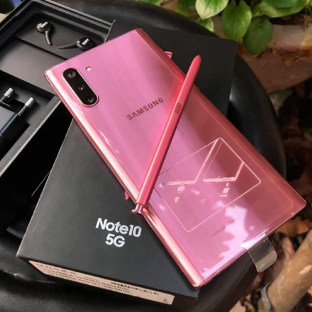 SAMSUNG(サムスン)のSamsung Galaxy Note 10 5G 本体のみ 新品同様 スマホ/家電/カメラのスマートフォン/携帯電話(スマートフォン本体)の商品写真
