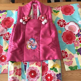 七五三 3歳女の子 着物フルセット