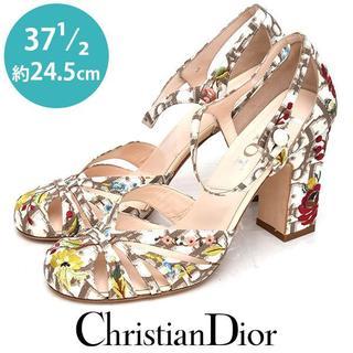 ディオール(Dior)の新品❤️ディオール トロッター サンダル パンプス 37 1/2(約24.5cm(ハイヒール/パンプス)