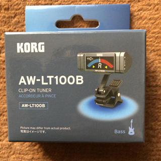 KORG AW-LT100B ベース用クリップチューナー  新品未開封