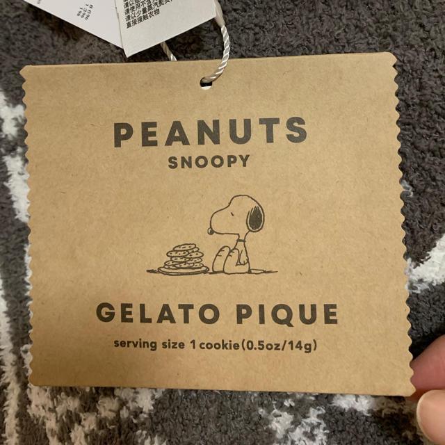 gelato pique(ジェラートピケ)のジェラートピケ スヌーピーブランケット 新品 キッズ/ベビー/マタニティのこども用ファッション小物(おくるみ/ブランケット)の商品写真