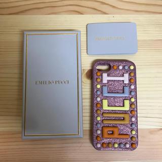 エミリオプッチ(EMILIO PUCCI)のエミリオプッチ EMILIOPUCCI iPhoneケース(iPhoneケース)