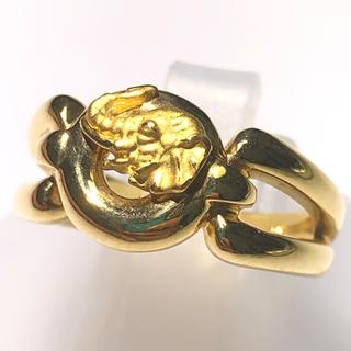 カレライカレラ 象 エレファント リング 指輪 k18 750 イエローゴールド(リング(指輪))