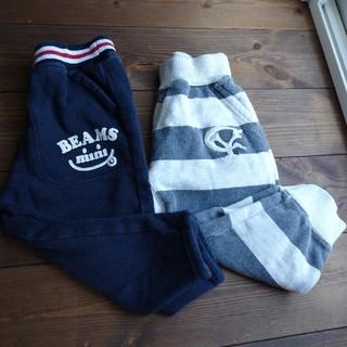 ビームス(BEAMS)のBEAMS スウェットパンツ 2枚 90cm(パンツ/スパッツ)