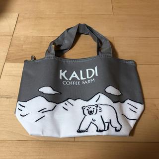 カルディ(KALDI)の新品 雑誌付録 KALDI×レタスクラブ オリジナルひんやり保冷バッグ(弁当用品)