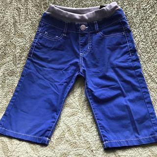 エムピーエス(MPS)のMPS ロイヤルブルー 膝丈パンツ  130(パンツ/スパッツ)