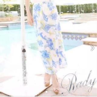 レディー(Rady)のRady お花マーブル ロングスカート(ロングスカート)