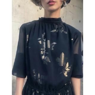 Ameri VINTAGE - 完売品 AMERI*BLOSSOM PLEATS DRESS