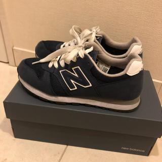 New Balance - ニューバランス スニーカー 24センチ ネイビー