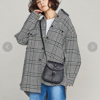 BEAUTY&YOUTH UNITED ARROWS - ビッグシャツ BY チェック オーバー ジャケット