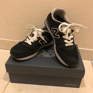 ニューバランス(New Balance)のニューバランス スニーカー 24センチ ブラック 黒(スニーカー)