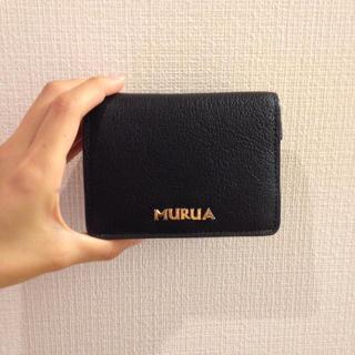 innovative design be8e3 01294 MURUA 折りたたみお財布