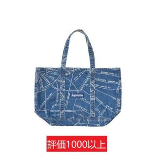Supreme - Supreme Gonz Map Denim Tote 青