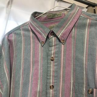 サンタモニカ(Santa Monica)の古着 ビッグサイズ シャツ(シャツ/ブラウス(長袖/七分))