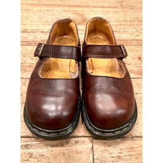 ドクターマーチン(Dr.Martens)のvintage イングランド製 メリージェーン made in England(ローファー/革靴)