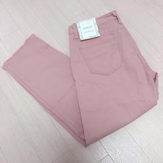 韓国ファッション ピンクパンツ (カジュアルパンツ)