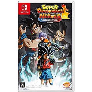 Nintendo Switch - 任天堂スイッチ スーパードラゴンボールヒーローズ ワールドミッション