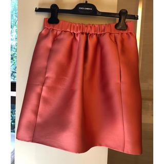 Drawer - ドゥロワー Drawer スカート 36 コーラルピンク  ギャザースカート