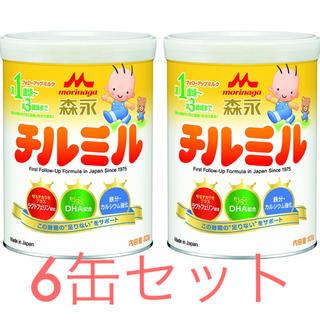 モリナガニュウギョウ(森永乳業)の森永 チルミル  新品 6缶セット(その他)