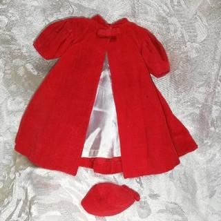 バービー(Barbie)のヴィンテージ バービー シルケンフレーム コート&帽子(ぬいぐるみ/人形)