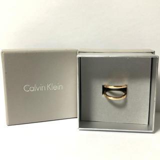 Calvin Klein - 1558 カルバンクライン リング ゴールドカラー 11号