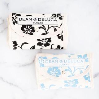 DEAN & DELUCA - ティーンアンドデルーカ ロイヤルハワイアン店2周年記念トート 黒&水色セット