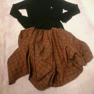 Vivienne Westwood - 新品タグ付き ヴィヴィアンウエストウッド 変形スカート
