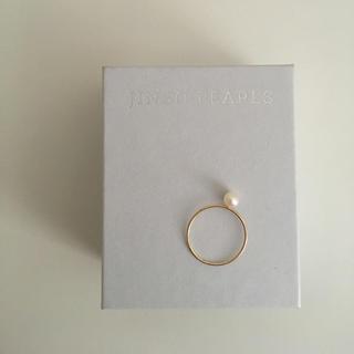 神保真珠商店 パール ピンキーリング 3号(リング(指輪))