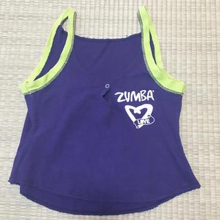 Zumba - ZUMBA®︎  タンクトップ 紫 S