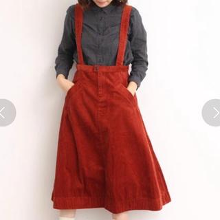 bulle de savon - コーデュロイ吊りスカート