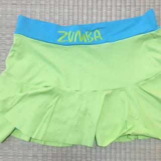 Zumba - ZUMBA®︎  スコート ライムグリーン S
