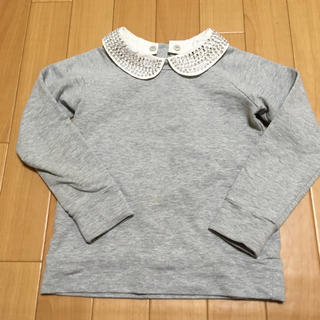 kate spade new york - 【美品】ケイトスペード 120 襟つき 長袖 トップス