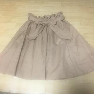 NICE CLAUP - ウエストリボンスカート