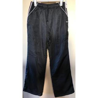 フィラ(FILA)の新品 ブランドFILA 裏起毛 暖かいシャカシャカ ジャージパンツ黒 LLサイズ(その他)