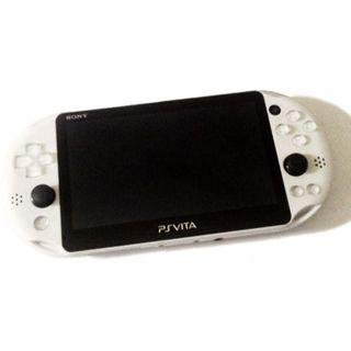 PlayStation Vita - 【準美品】PlayStation®Vita グレイシャー・ホワイト ZA22