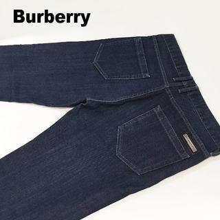 BURBERRY - Burberryレギュラーストレートデニムパンツサイズ33約82cm