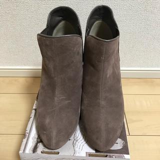 しまむら - ショートブーツ スエード