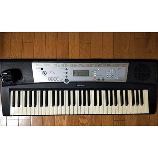 中古 YAMAHA ヤマハ 電子キーボード PSR-E203 ピアノ鍵盤
